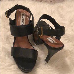 Steve Madden platform heeled sandals